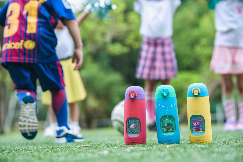 全球首款故事機水壺「Gululu Talk」讓孩子健康又有聊!