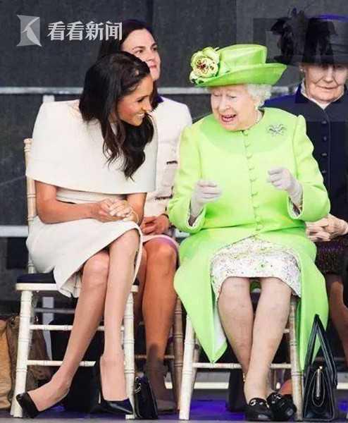 梅根皇家飯碗難捧 跟女王觀禮「翹二郎腿」惹眾怒...專家:她沒錯