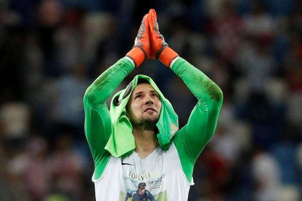 你的夢想我來完成!克羅埃西亞拚進決賽 門將衣下「永遠的兄弟」惹哭球迷QQ