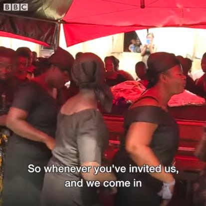 非洲版「孝女白琴」講究專業 哭得大聲又浮誇家屬荷包才能滿滿