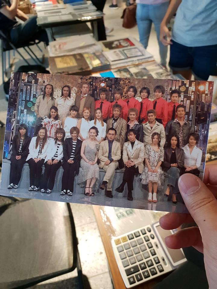 黃子佼曬17年前珍貴舊照 「27位台港日韓大明星」破世紀同框