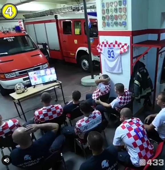 影/PK賽一半警報響!克羅埃西亞消防隊「20秒換裝」 放棄比賽出任務