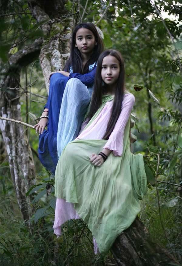 中德夫妻帶混血女兒隱居 3年打造「百萬坪雨林」LV也找上門