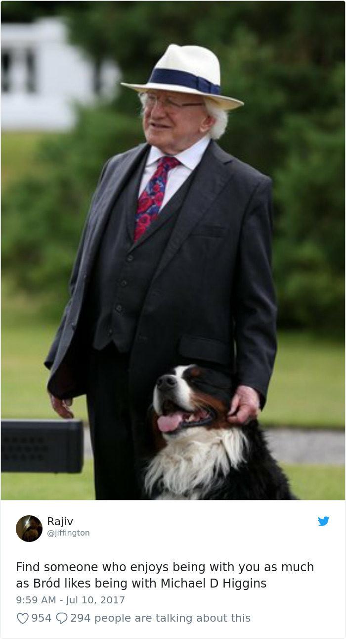 最萌總統!77歲愛爾蘭總統「挑戰極限單車」 亂入民眾照片根本可愛老爺爺❤