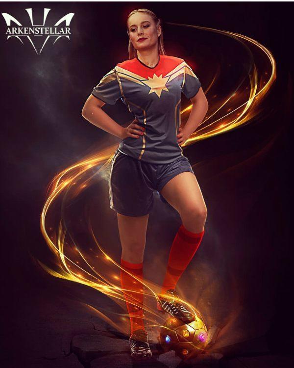 8張漫威女英雄「參加世足賽」超酷模樣 緋紅女巫正到根本誘敵戰術啊♥