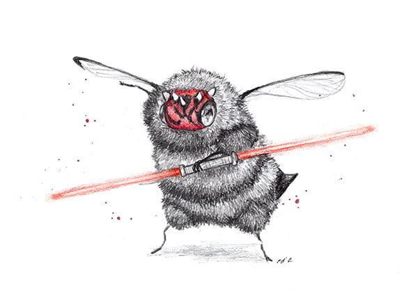 12個「被蜜蜂化」經典電影動漫角色 小丑蜂胖呼呼太萌