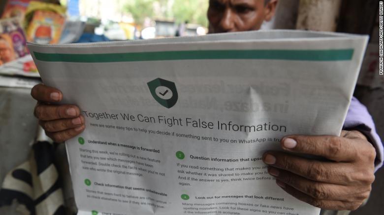 居民誤信Whatsapp假新聞!害Google工程師慘遭2000人「活活打到沒了氣息」