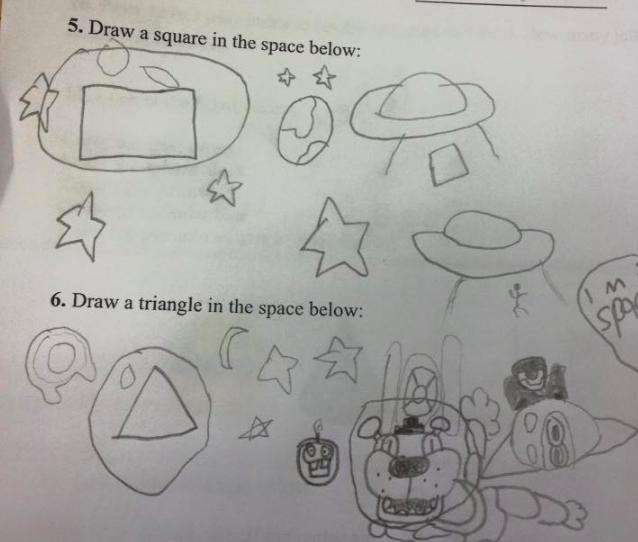 14張「仔細一想好像真的沒錯耶」爆笑小孩作業