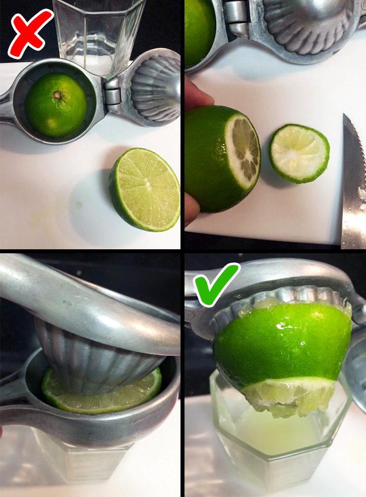 10個你過去一直傻傻做錯的「生活小撇步」 切檸檬不要對半切!