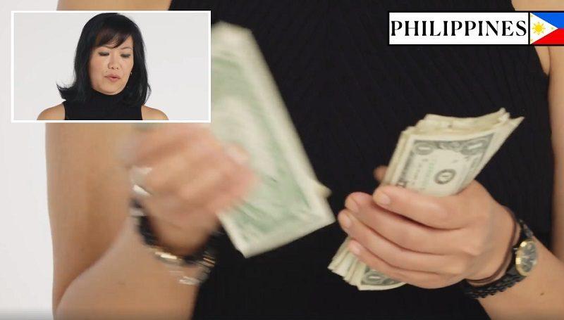 各國人展現祖國「數鈔票方式」 台灣人手指根本「活體點鈔機」
