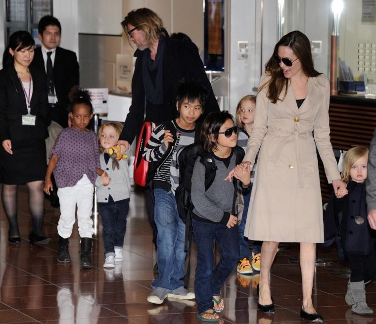 布裘6小孩長大了!不受離婚影響 裘莉:他們是我最好的朋友