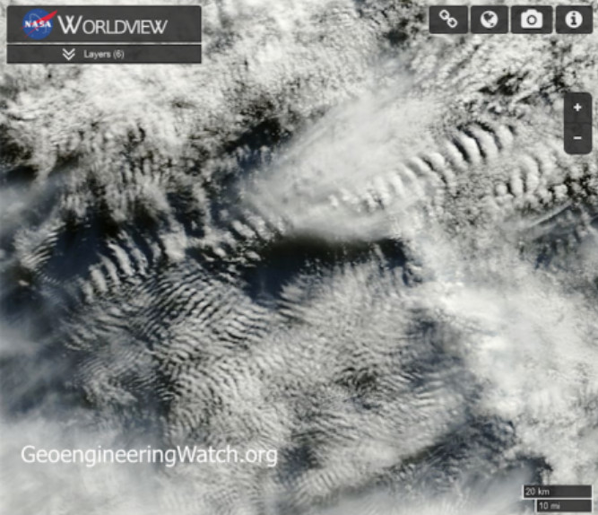 刮風下雨根本不是大自然演變 NASA釋出「雲朵照」才知都是人為操控