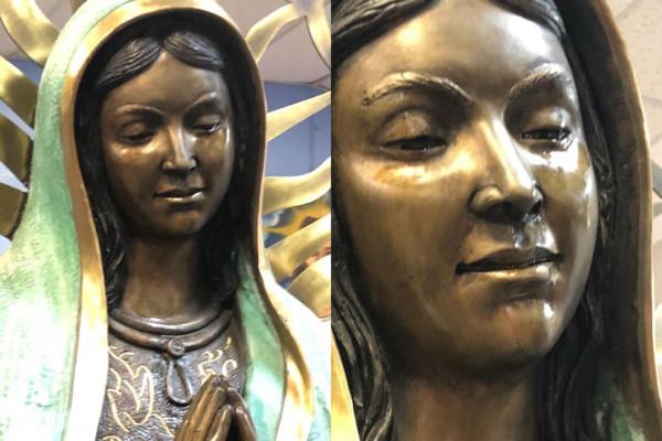 神蹟顯靈!信徒圍觀聖母馬利亞 教會驚覺眼淚「怎麼油油的?」