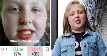 個人照遭網路投票公審「她長得醜嗎?」 10歲女童崩潰