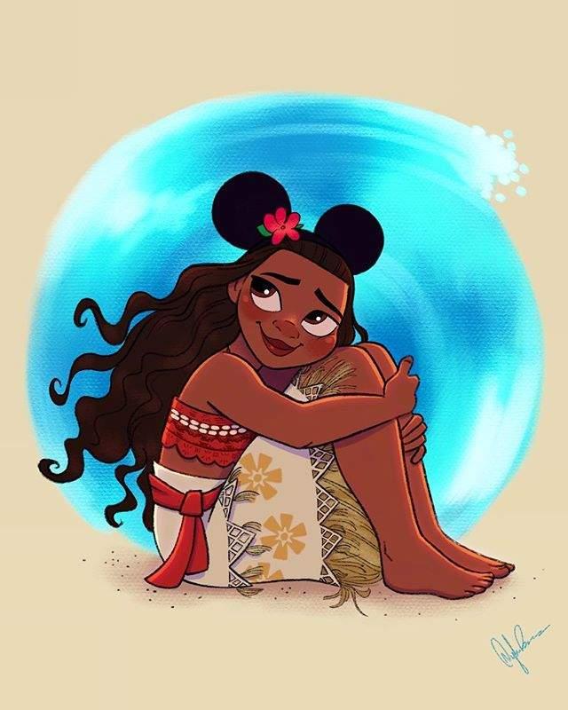 當公主們戴上「米奇耳朵」❤ 瞬間移動到迪士尼樂園不想出來惹