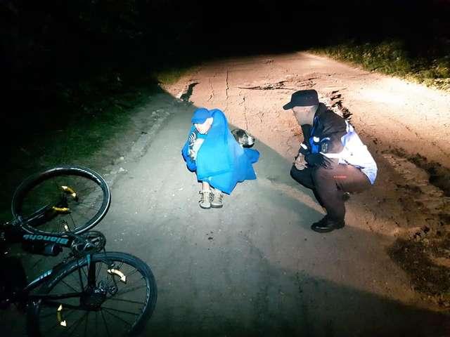 騎士摔斷骨「受困野外」無人幫 流浪狗衝出「用身體保護他」!