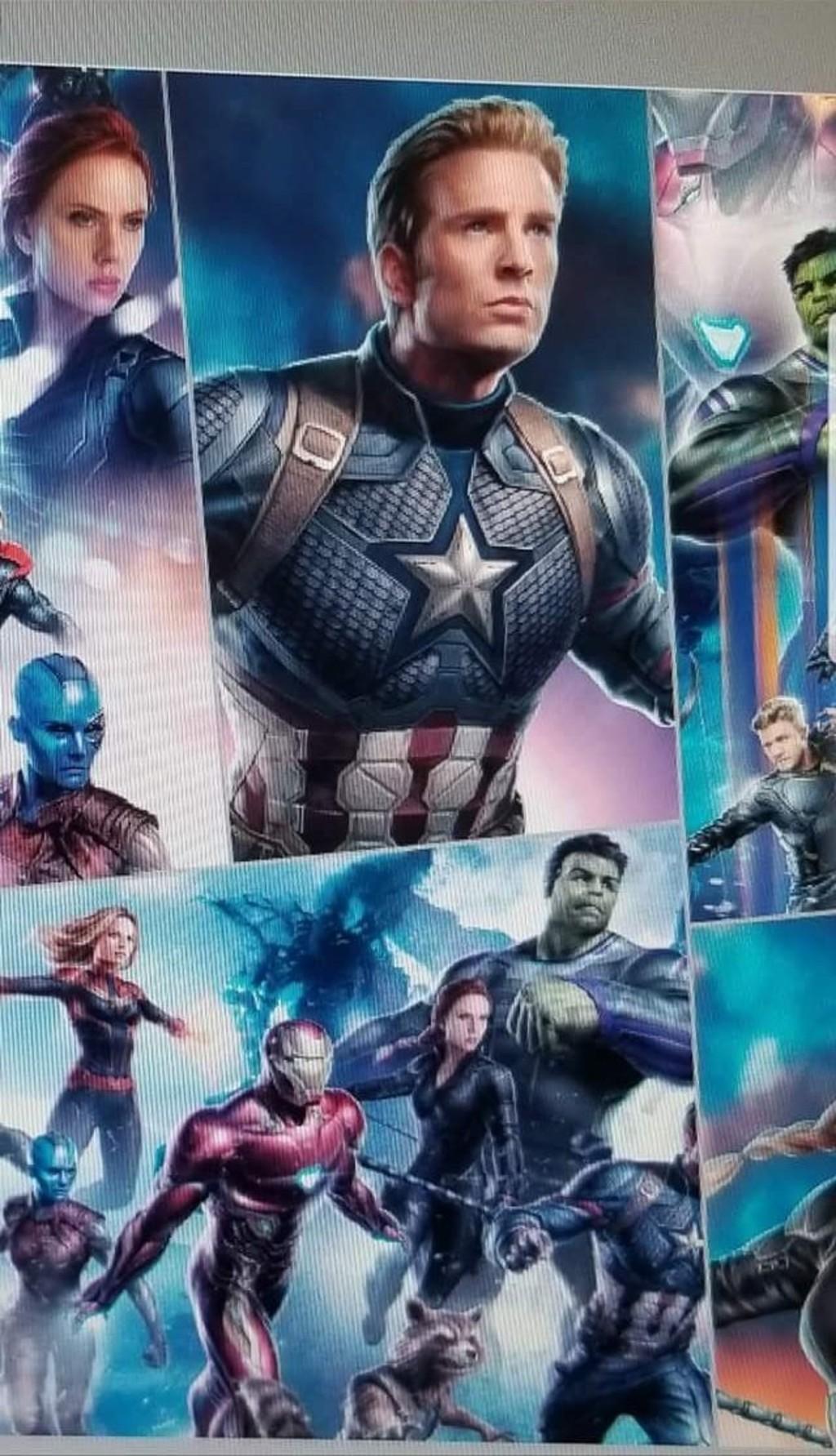 《復仇者4》全新概念圖曝光!驚奇隊長出招畫面、美國隊長鬍子引疑點