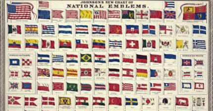 全球近200面國旗「幾乎沒紫色」 因為染料有錢也買不起!