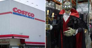 Costco變威廉古堡...180cm吸血公爵站賣場 小P孩經過爆哭:馬麻~