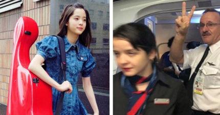 留學生帶大提琴遭趕下機!機長開心比YA 歐陽娜娜嗆美航:給個解釋!