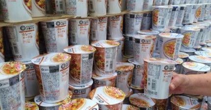 是有多愛吃!商店一夕「300萬台幣泡麵」全被偷光 店家也傻了