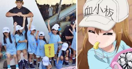 台灣超可愛「血小板Cosplay」紅到日本!日網友噁心發言卻引起恐慌