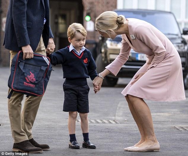 5歲喬治王子開學 「課表」比高中生還滿:跳芭蕾是必須的!