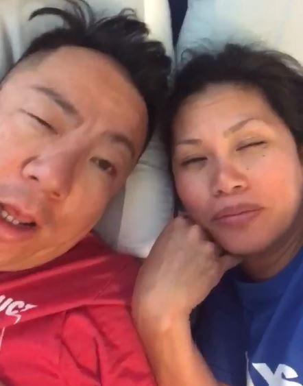 祝女兒生日快樂!「超ㄎㄧㄤ爸媽」喝掛錄影片:我頭痛~