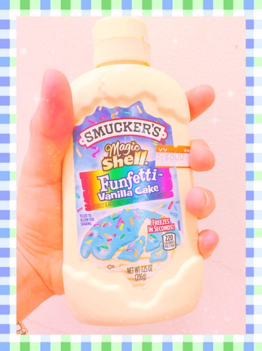 新IG話題美食!神秘藍色液體 淋上冰淇淋瞬間凝結♡