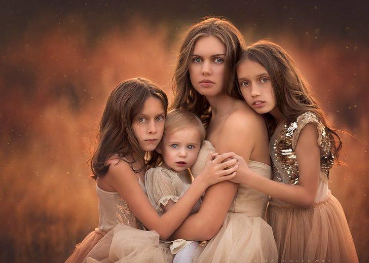 媽媽用攝影記錄「11個孩子生活日常」 空靈4女兒宛如仙女下凡!