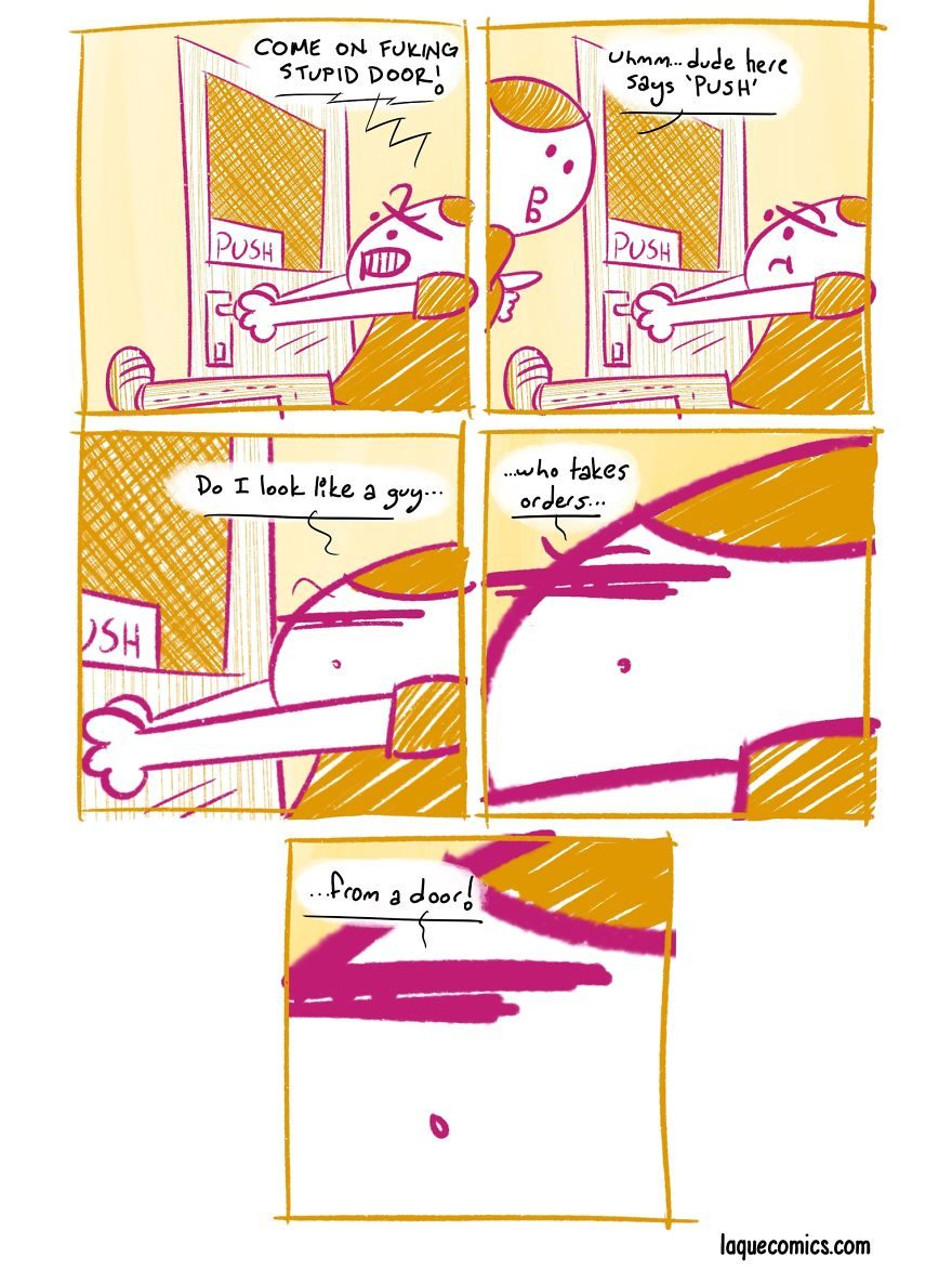 【PART 2】21張內心夠黑才看得懂「黑色幽默諷刺彩漫」