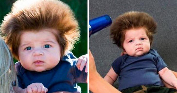 23張連髮型師也投降的「違反物理定律」天生髮型 基因就是最好的設計師!