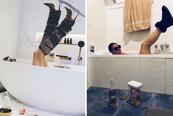 美照都是騙人的!20張把網美嗆爆的「爆笑惡搞重製照」