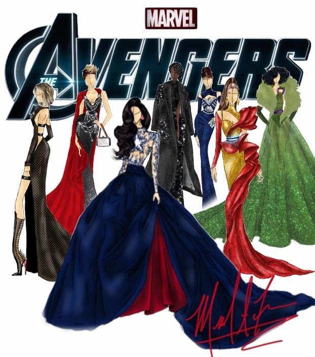 25件「超級英雄戰袍→絕美禮服」 美國隊長的根本是婚紗啊!