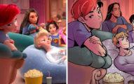迪士尼公主化身「地表最帥氣王子」開私服睡衣趴 男版艾莎狂放電啊♥
