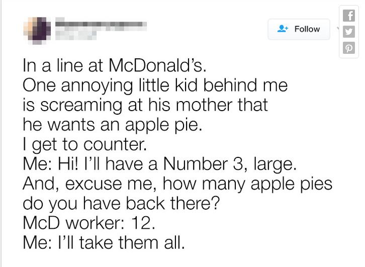 10張「6到只能跪了」的照片 自拍貼在麥當勞居然一個月沒人發現!