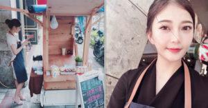 高雄涼麵攤老闆娘「大眼激似吳雅馨」 引爆台男假日南下朝聖:我拿到合照了啦XD