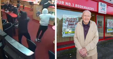 惹錯人!蠢匪進彩券行 遇上「85歲爺爺」直接被踢出門...原來年輕是健身教練啊