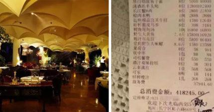 極度奢侈杜拜王子請吃「180萬晚餐」 餐廳經理:8個人吃這樣在杜拜很平常~
