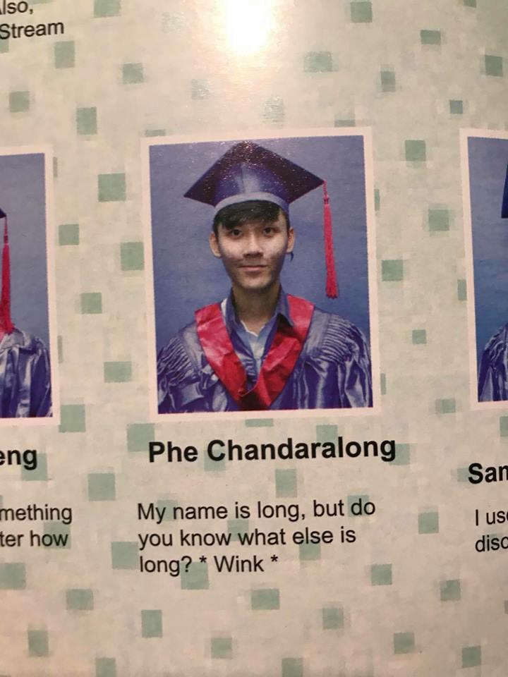 12張會讓老師直接崩潰的「超狂爆笑畢業照」 他:別追夢,追我!