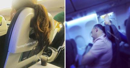 飛機上最討厭遇到的事情!「光腳放前面椅背、剪指甲」並列第一名