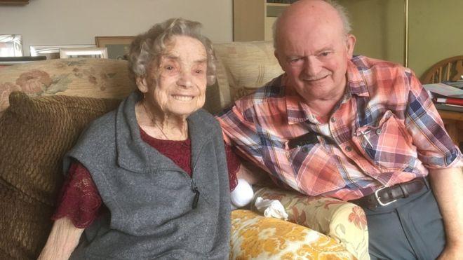 百歲奶奶喜迎第3次婚姻 甜嫁「小26歲男友」:趁現在還不晚