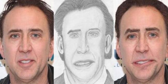 15張粉絲手繪的明星「超現實藝術畫」布萊德彼特根本打腫臉充胖子!