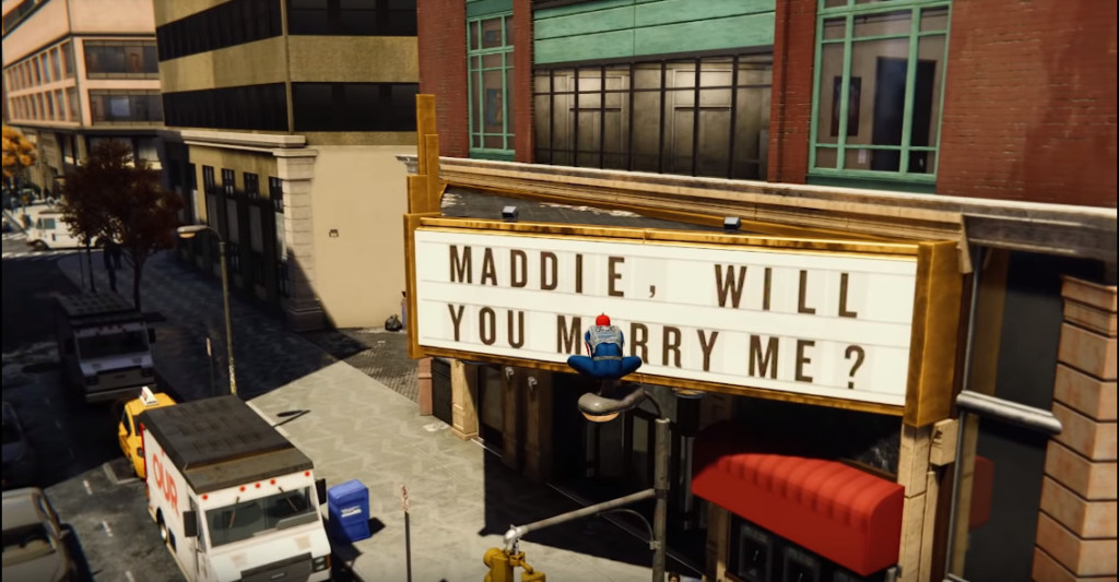《漫威蜘蛛人》幫粉絲求婚!女方劈腿悲劇收場 另一玩家「女友同名」跟風求婚竟成功XD