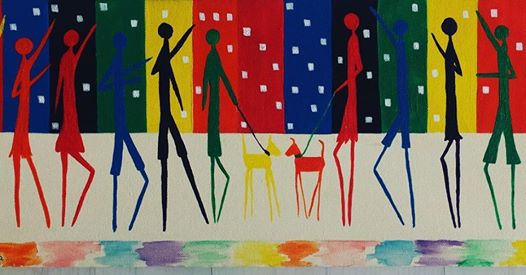 20個人格12種風格!多重人格女畫家 「一天變換4次」畫布上揮灑真實自我
