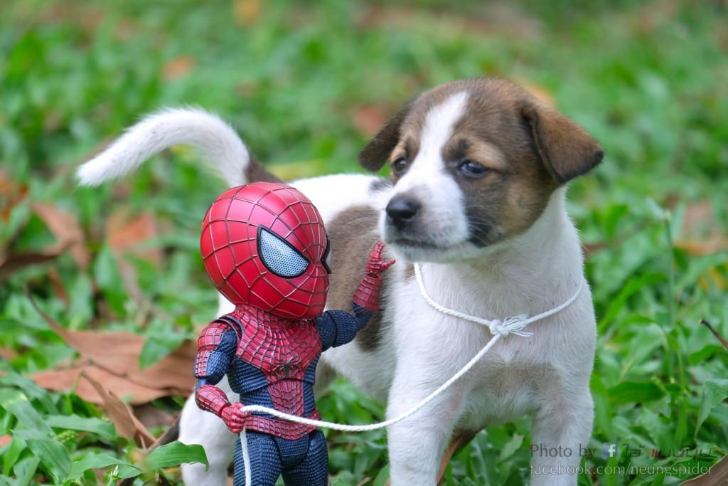 蜘蛛人找「巨大萌獸」組團!粉紅肉球連敵人都被融化:拜託加盟復仇者❤️️