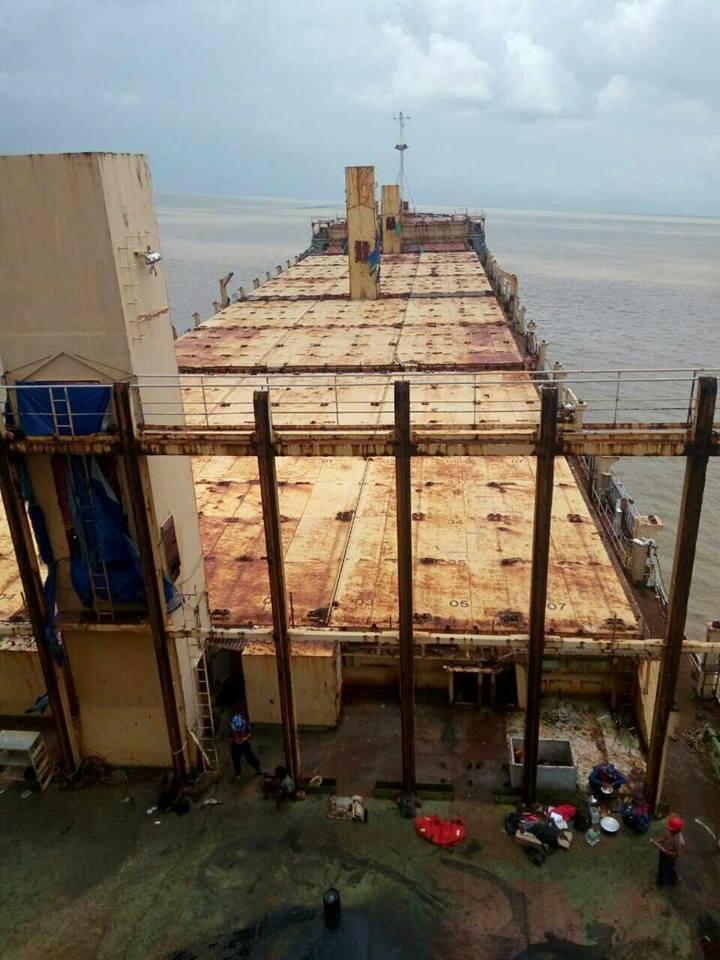緬甸憑空漂出「生鏽幽靈船」 船上空無一人...最後記錄:台灣台南、嘉義外海!