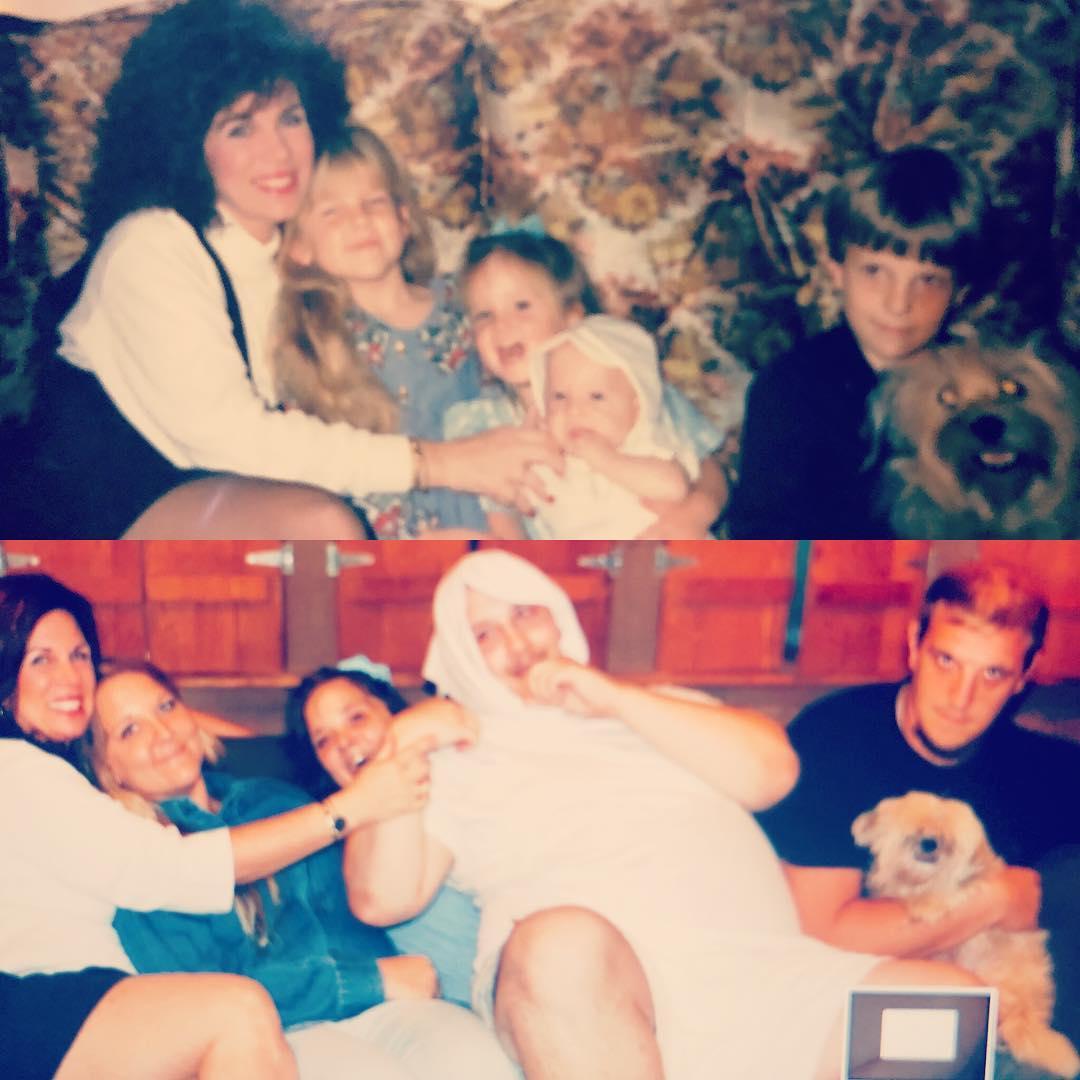 22張「穿越時空至少20年」的家庭照 看完之後絕對讓你想耍廢跟媽媽撒嬌!
