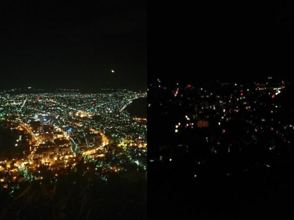 北海道凌晨6.7強震 屋外「道路震成深水溝」函館百萬夜景消失了...