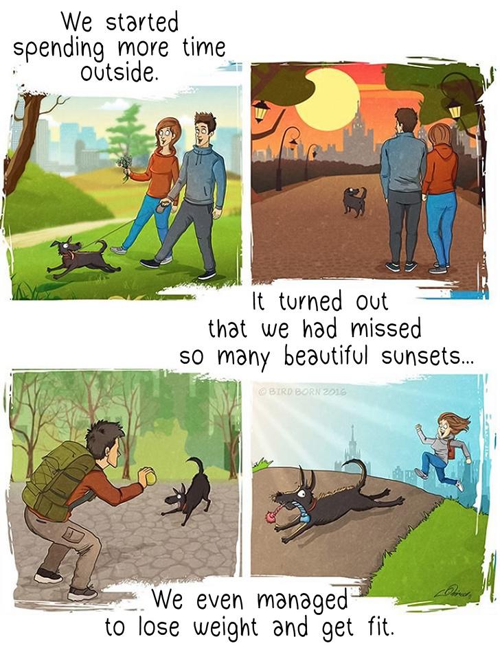 淚崩!畫家分享13件領養狗狗後才知道的事 他:牠從來都不懂「愛是什麼」